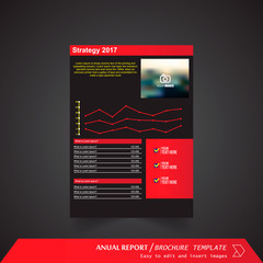 Anual Report , Brochure Template - page 09