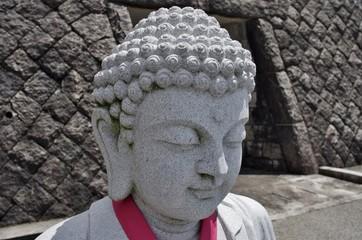 石像の仏像の顔