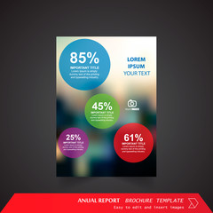 Anual Report , Brochure Template - page 15