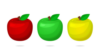 Apple vector set