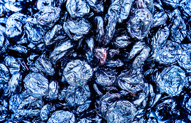 prunes as background texture