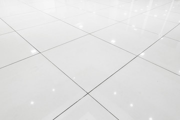 Flooring ceramic tiles of hall room., Abstract background.