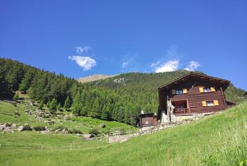Baita d'alpeggio in Valtellina