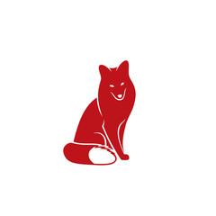 Red fox symbol
