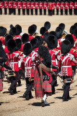 Band playing at Trooping of the colour