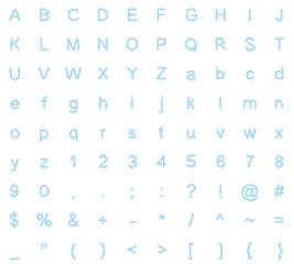 typeface design electric