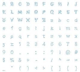 typeface design air