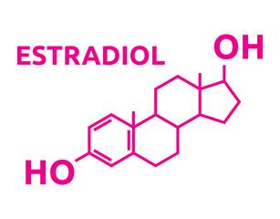 Estradiol Hormones symbol