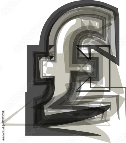 Abstract Pound Symbol Stock Image And Royalty Free Vector Files On