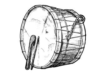 illustration of davul