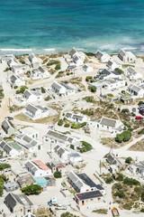 Aerial view of Arniston Fisher Village