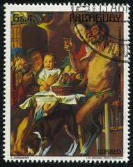 Satyr and Peasant by Jordaens