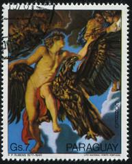 Kidnepping of Ganimed by Rubens