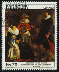 Jordaens with his Family by Jordaens