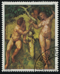 Painting Adam and Eve