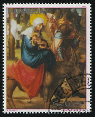 flight to Egypt by Albrecht Durer