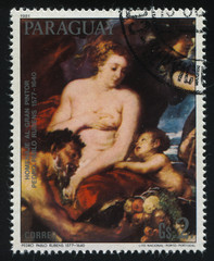 Minerva Protecting Peace from Mars by Rubens