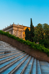 old stairs at rome