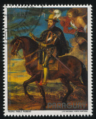 Philip II on Horseback by Rubens
