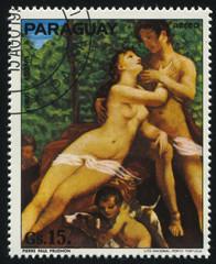 Venus and Adonis by Pierre Paul Prudhon