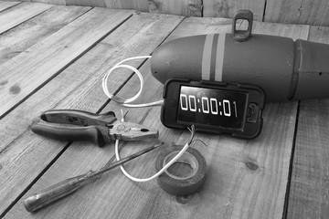 improvised explosive device, terrorist weapon, bomb