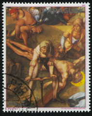 Nailing the Christ to the Cross by Albrecht Durer
