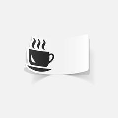 realistic design element: coffee