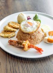 Tiger prawn fried rice
