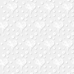 Doodle seamless pattern background.