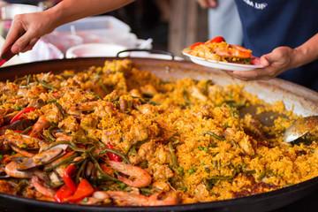 スペイン料理・パエリア