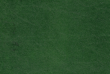 Green color artificial leather pattern.