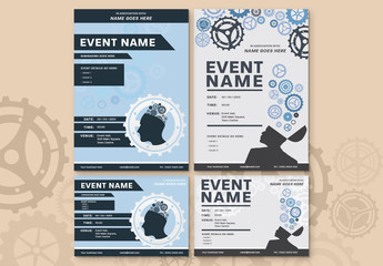 Brainstorming Event Poster Layout