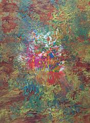Akrylowa abstrakcja.