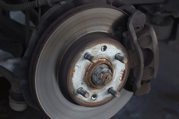 replacement of a car wheel