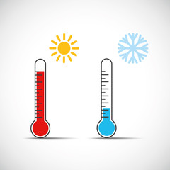 thermometer temperatur sommer winter