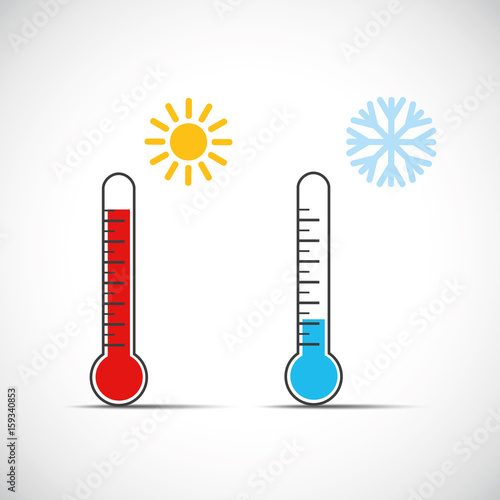 thermometer temperatur sommer winter stock image and royalty free vector files on