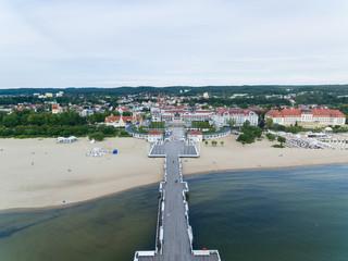 Beach of Sopot