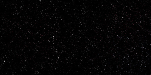 Abstract view of stars and planets