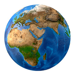 Wall Mural - Planet Earth high definition