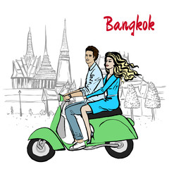 couple in Thailand