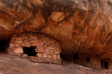 The 'House on Fire' ruin, located in Mule Canyon, is pictured in Bears Ears National Monument in Utah's Four Corners region