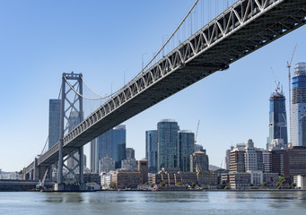oakland bay bridge of San Francisco