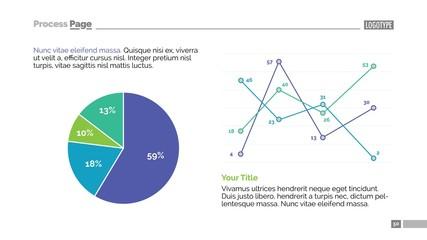 Data Chart Slide Template 2
