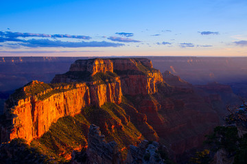 Deurstickers Canyon Cape Royal Overlook at Sunset H