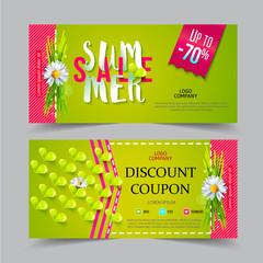 Summer sale voucher