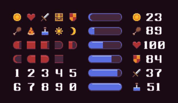 Pixel Art Interface
