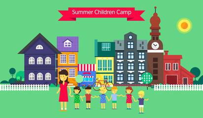 Summer children camp