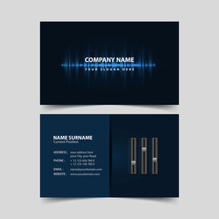 Deejay Business Card Template.