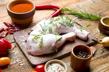 Udko kurczaka z przyprawami
