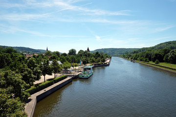 Main-Donau-Kanal in Berching